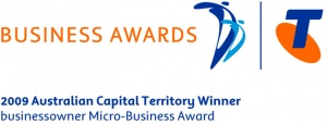 Telstra Awards logo