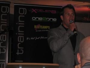 Shannan Giving a Speech for Xceler8 Gala Ball